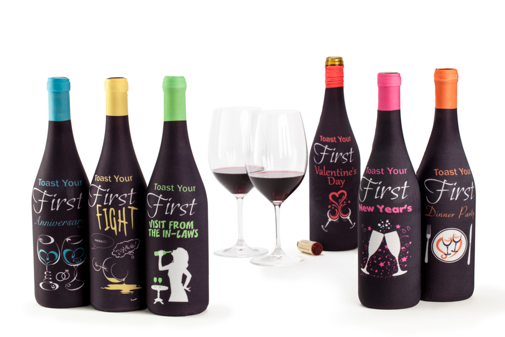 Product Photography - wine bottle covers