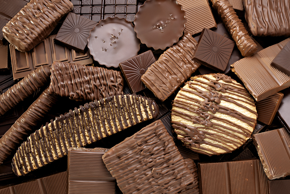 Food Photography - Chocolate Background