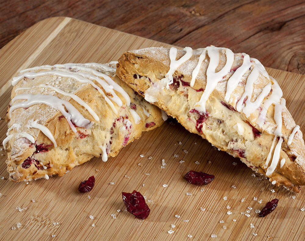 Food Photography  - Cranberry Pastry