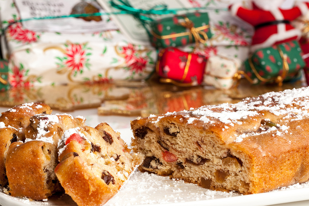 Food Photography - Christmas Stollen