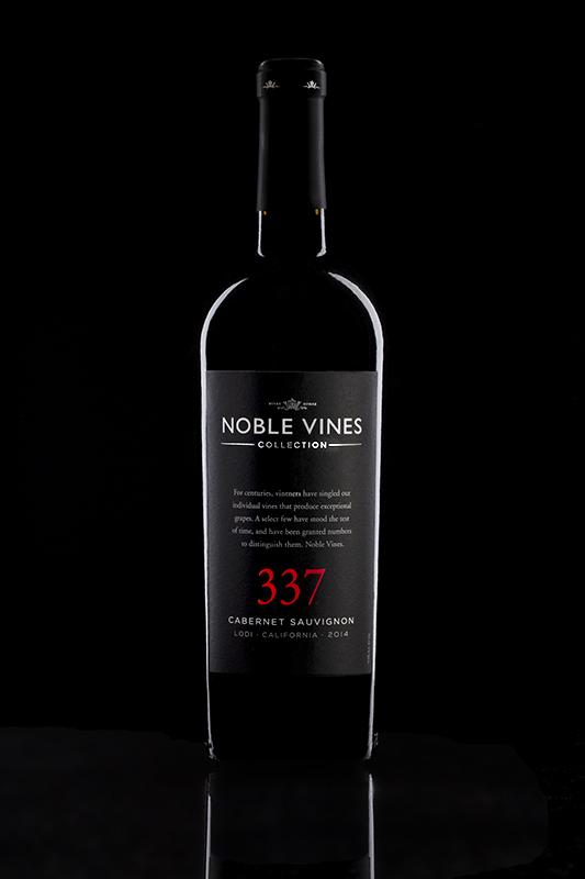 Beverage Photography bottles on black