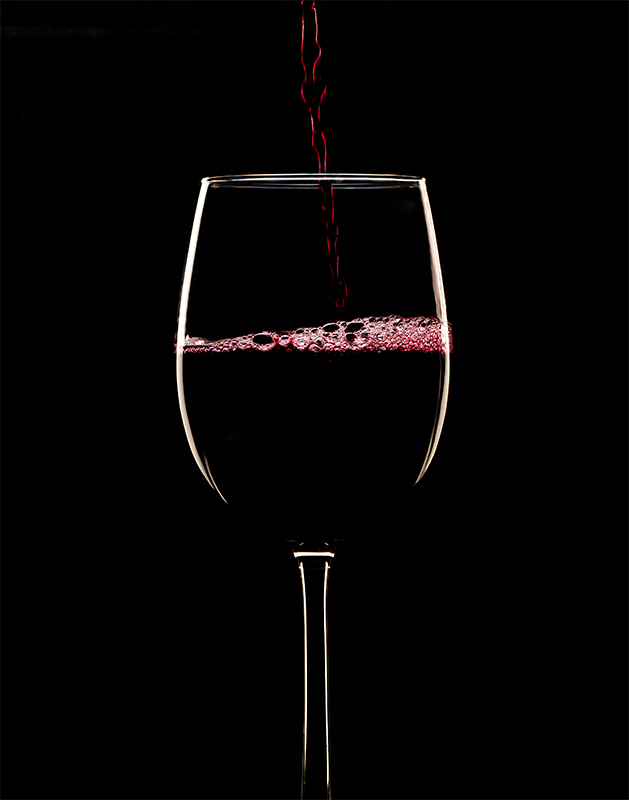 Beverage Photography - Wine