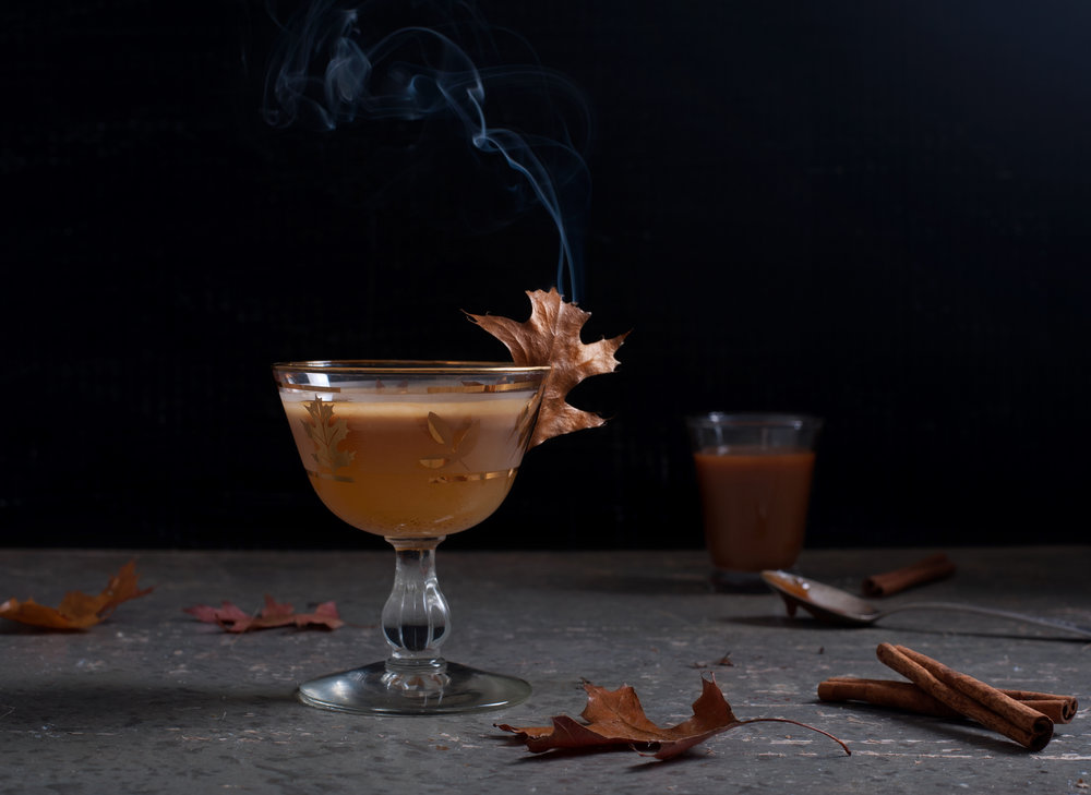 Fall is in the air cocktail -photo by Nathan Hubble, Followthatfork.com