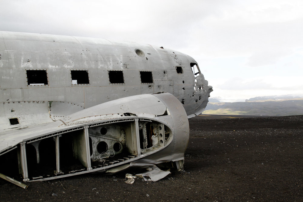 ICELAND US NAVY AIRPLANE