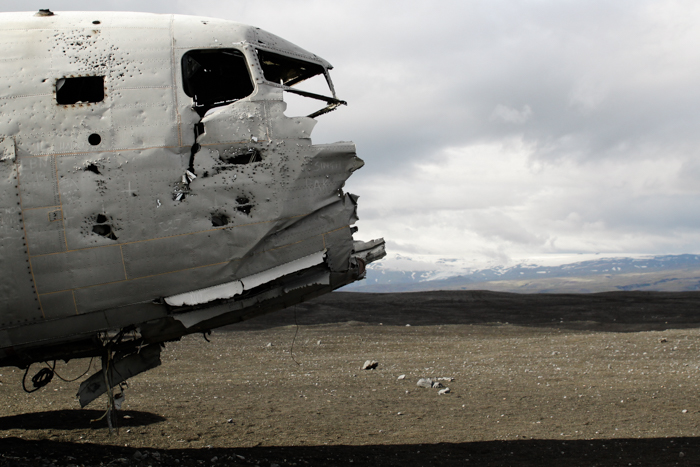 ICELAND PLAN CRASH DC 3 COORDINATES