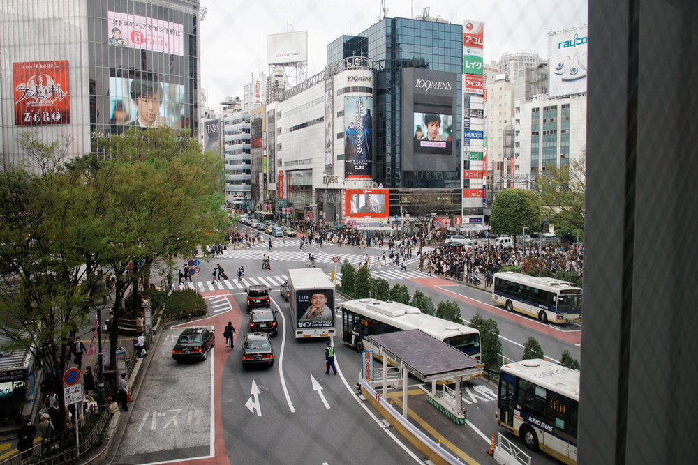 TOKYO SHIBUYA STATION