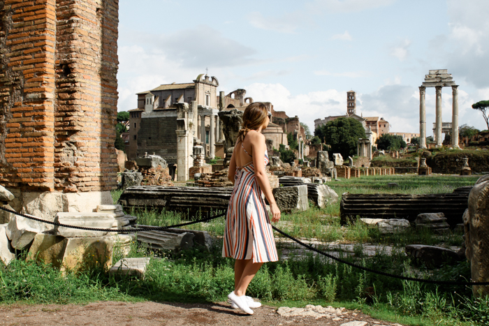 ROMAN FORUM ROME RUINS