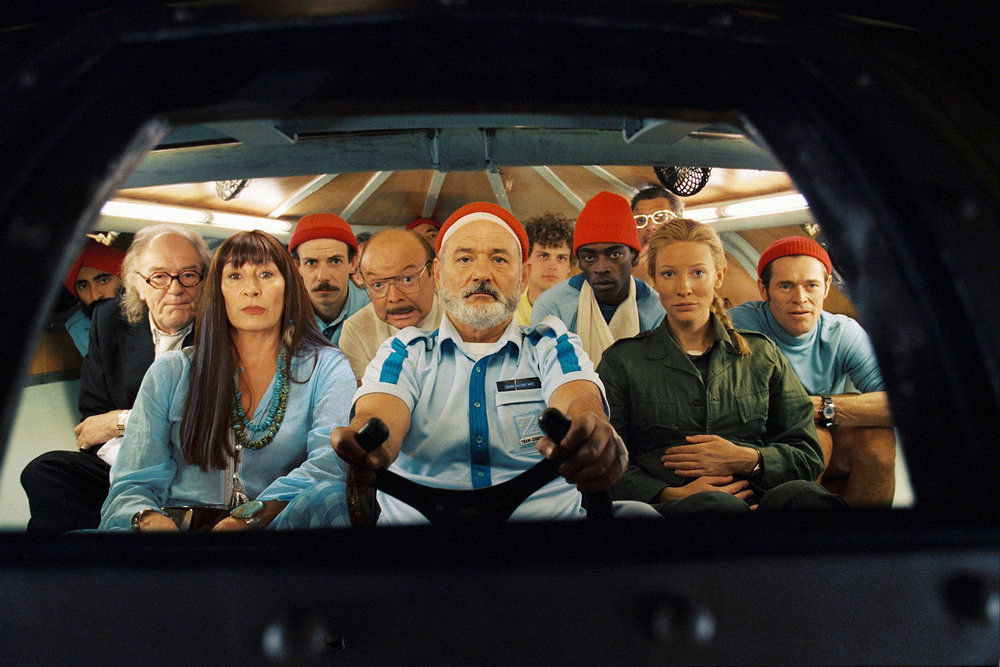 THE LIFE AQUATIC - AT SEA
