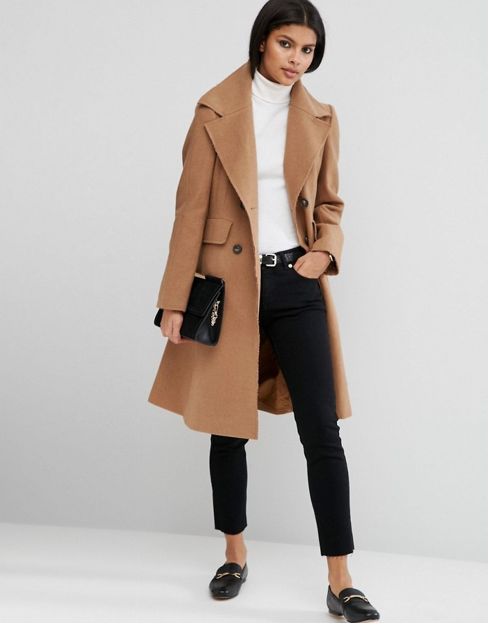 1. ASOS Wool Coat