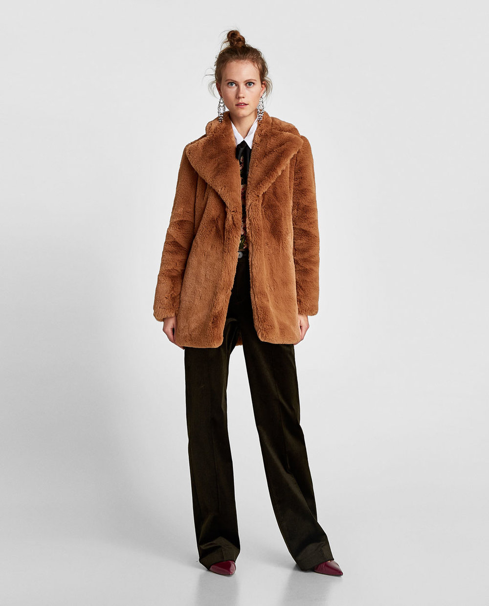2. Fur Short Coat