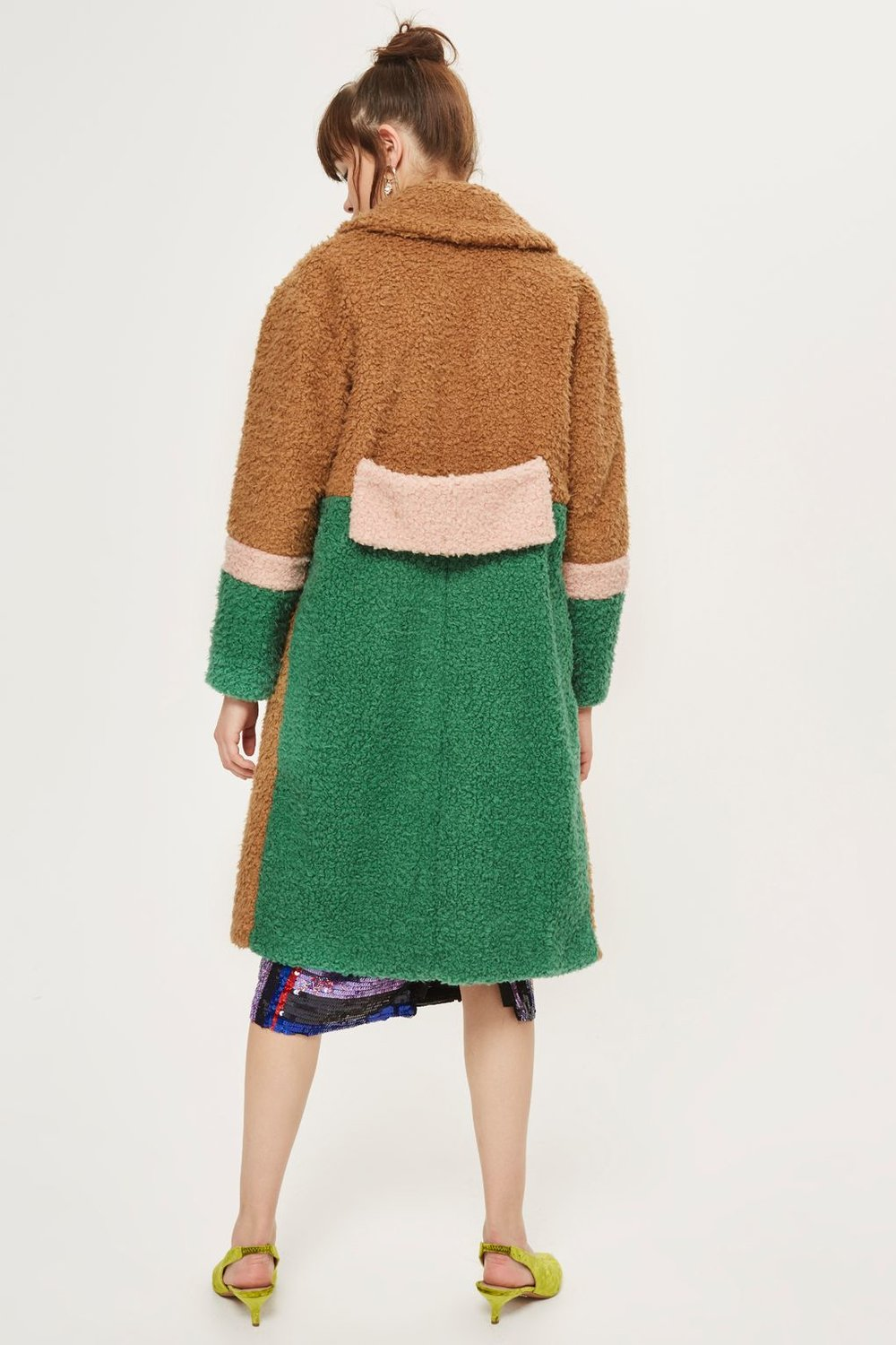 3. Topshop Color Block