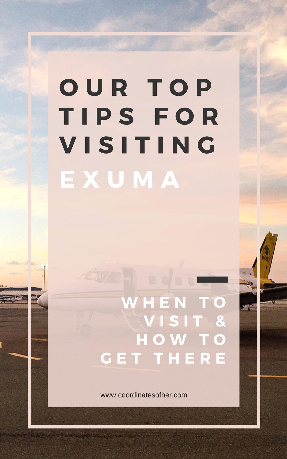 Tips for Visiting Exuma Bahamas