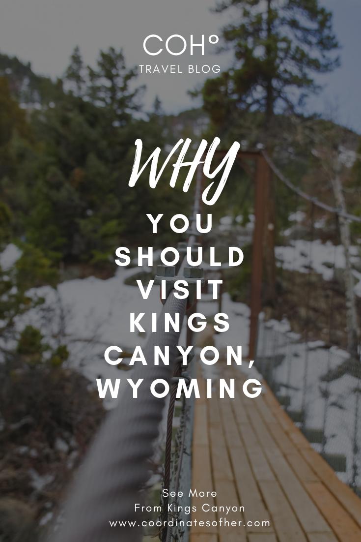 KINGS CANYON WYOMING