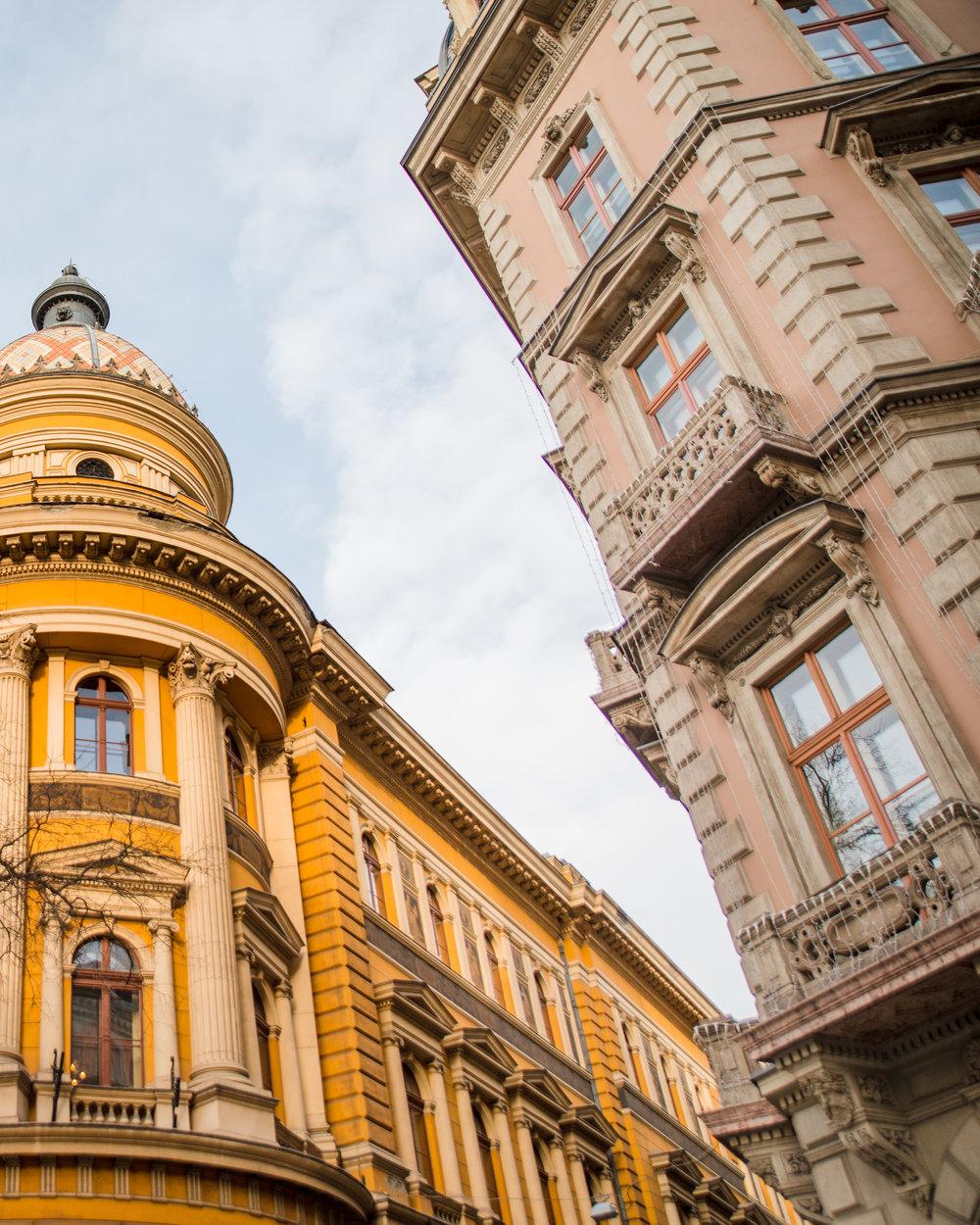 budapest solo architecture walking tour