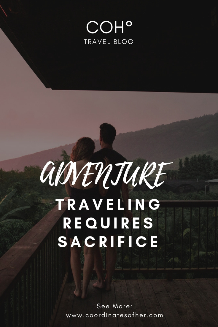 travel sacrifice