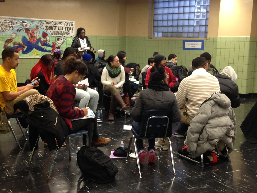 New Settlement Parent Action Committee's 2016 MLK Day event, Jordan L. Mott Middle School, Bronx, NY