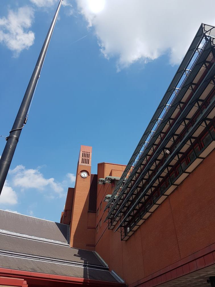 Back at my old haunt, the British Library.
