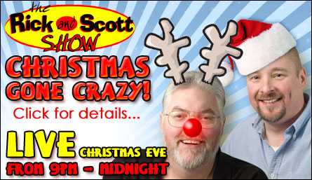 "Christmas gone crazy on the ""The Rick and Scott Show"""