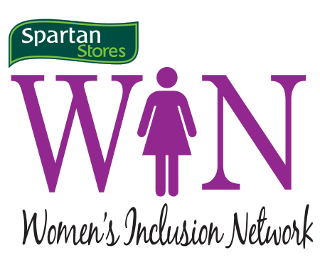 Spartan Stores W.I.N ( Womens Inclusion Network)  logo -  designed by Evolving Creativity, LLC