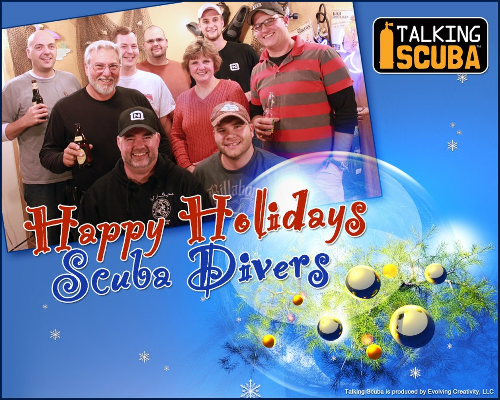 Happy Holidays from Talking Scuba