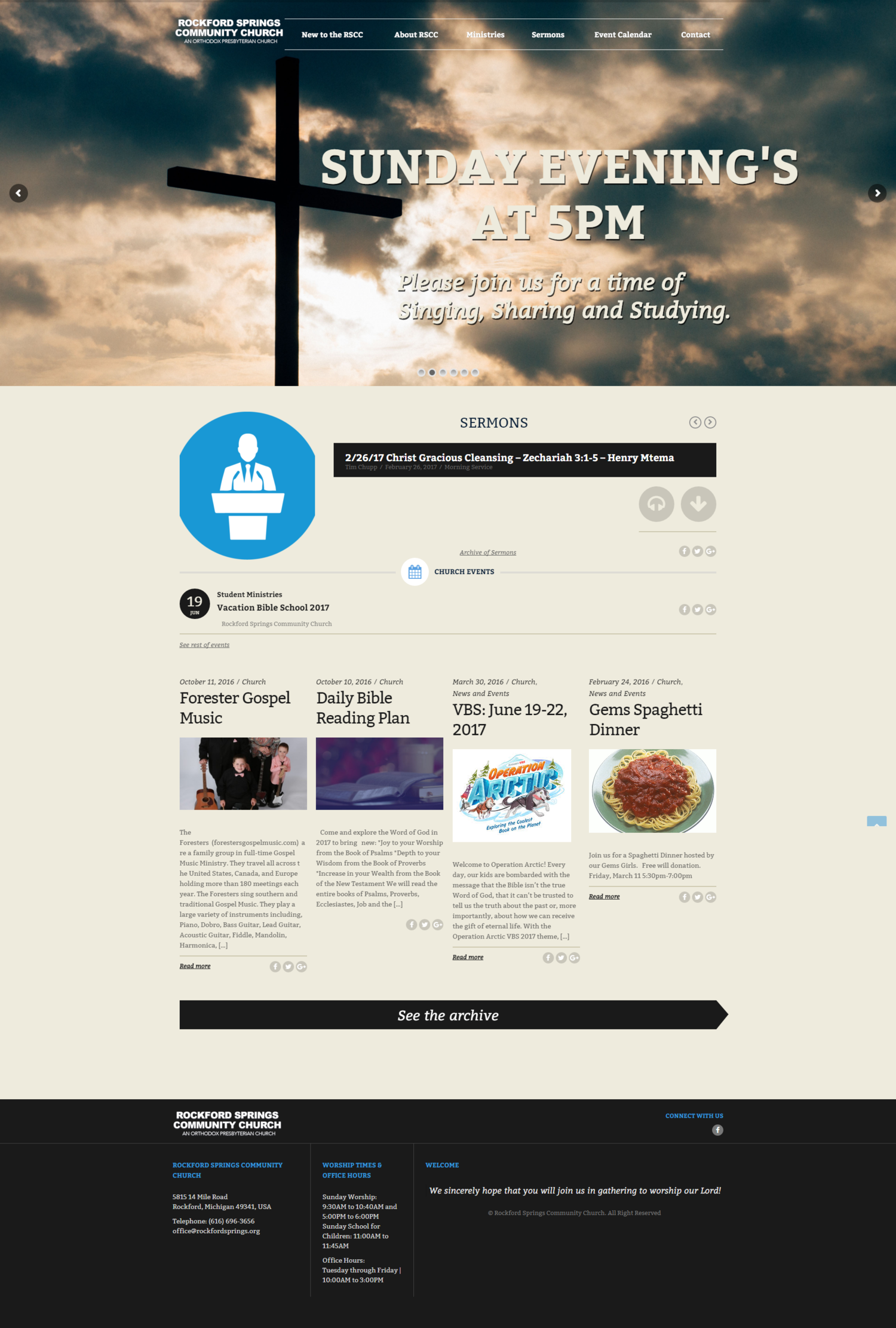 Using responsive design helps bring a church's message to all mobile devices and screens.