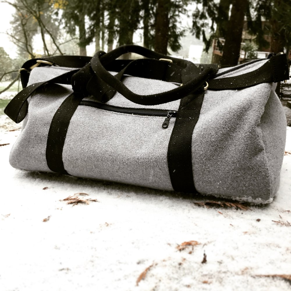 ethically made waterproof duffle