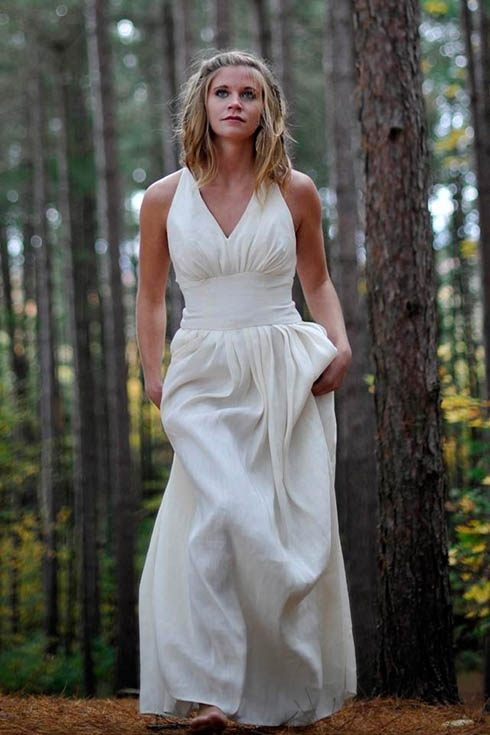 custom ethical wedding dresses