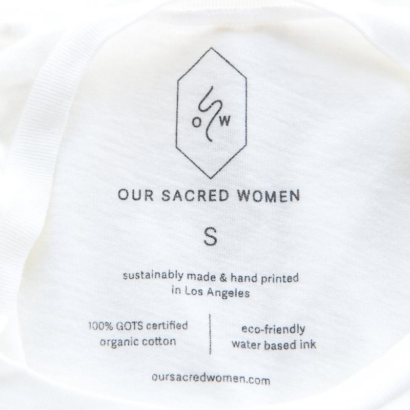 organic female empowerment shirt