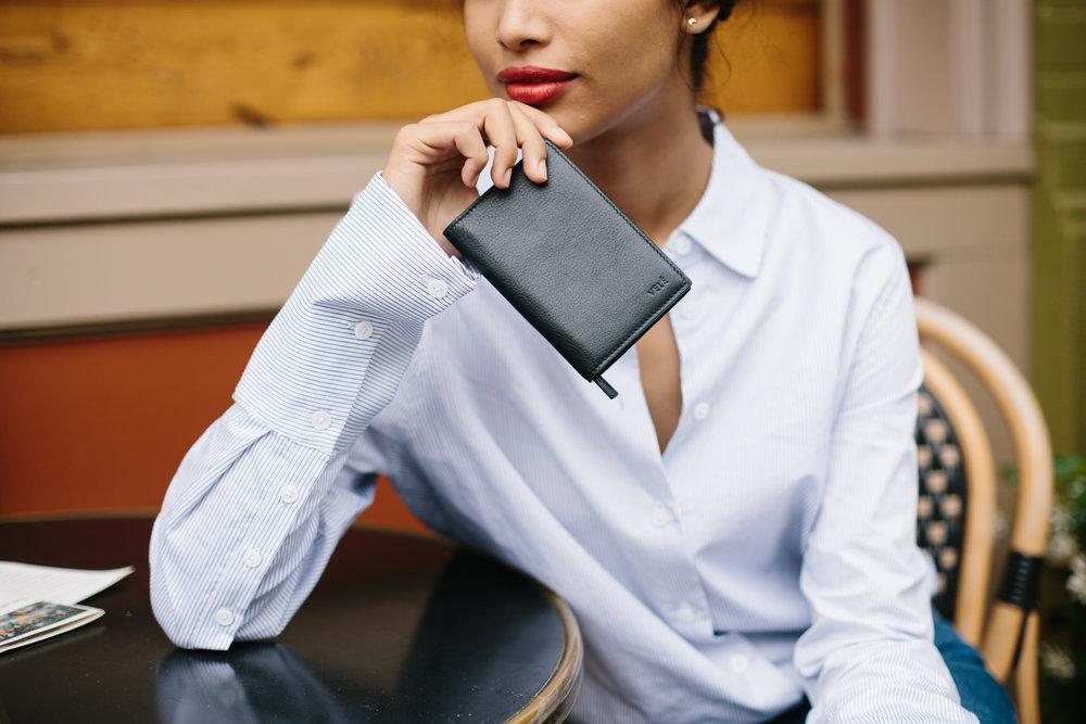 small black wallet