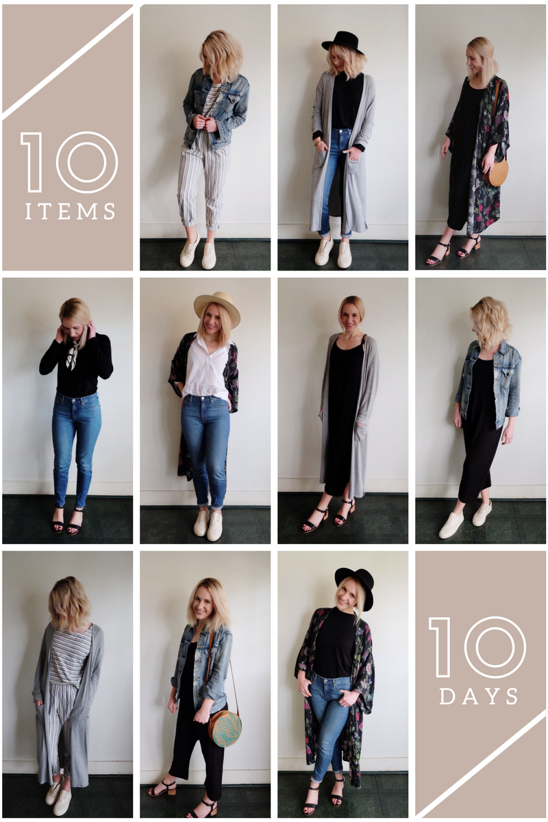 SELFLESSLY STYLED | 10x10 challenge | ethical style