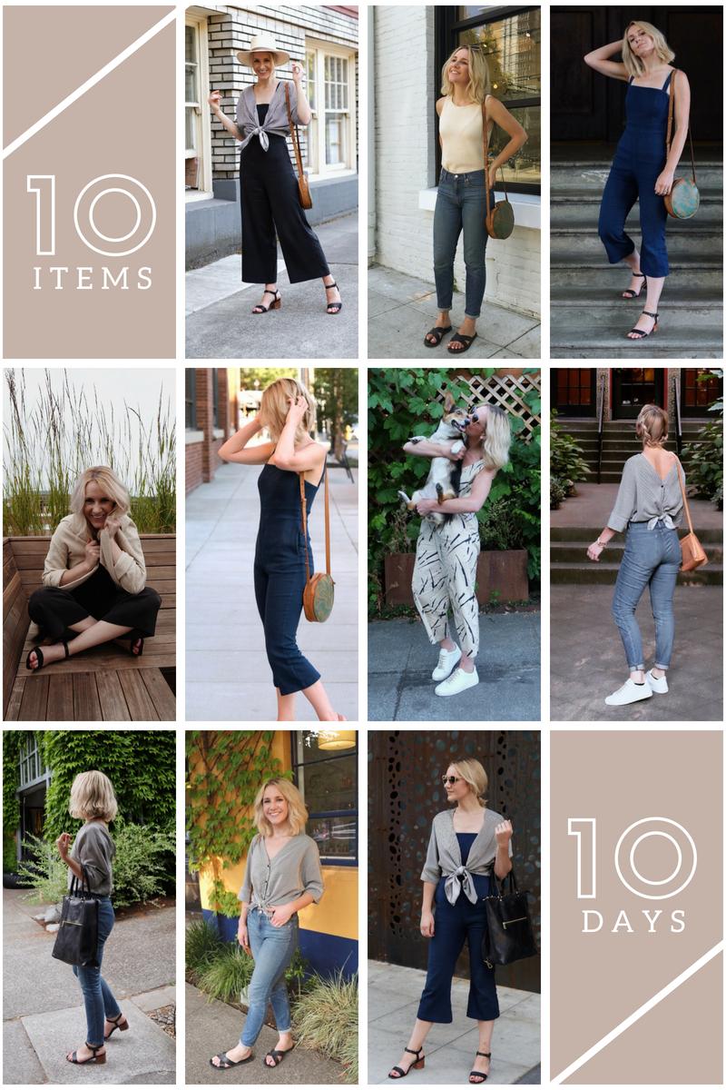 10 Days 10 Items Inspo | Ethical Fashion Blogger