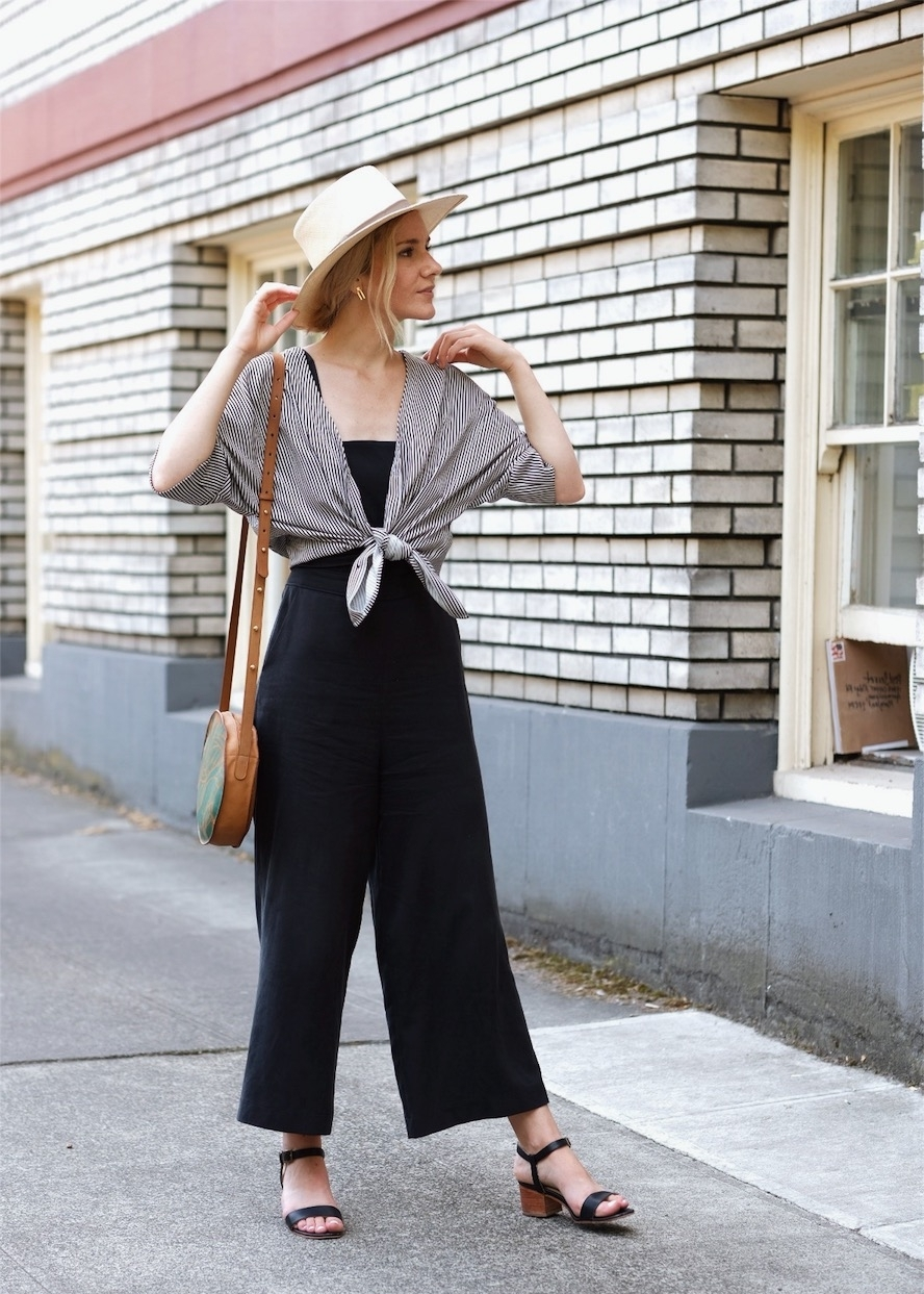 Ethical minimal outfit ideas | Selflessly Styled