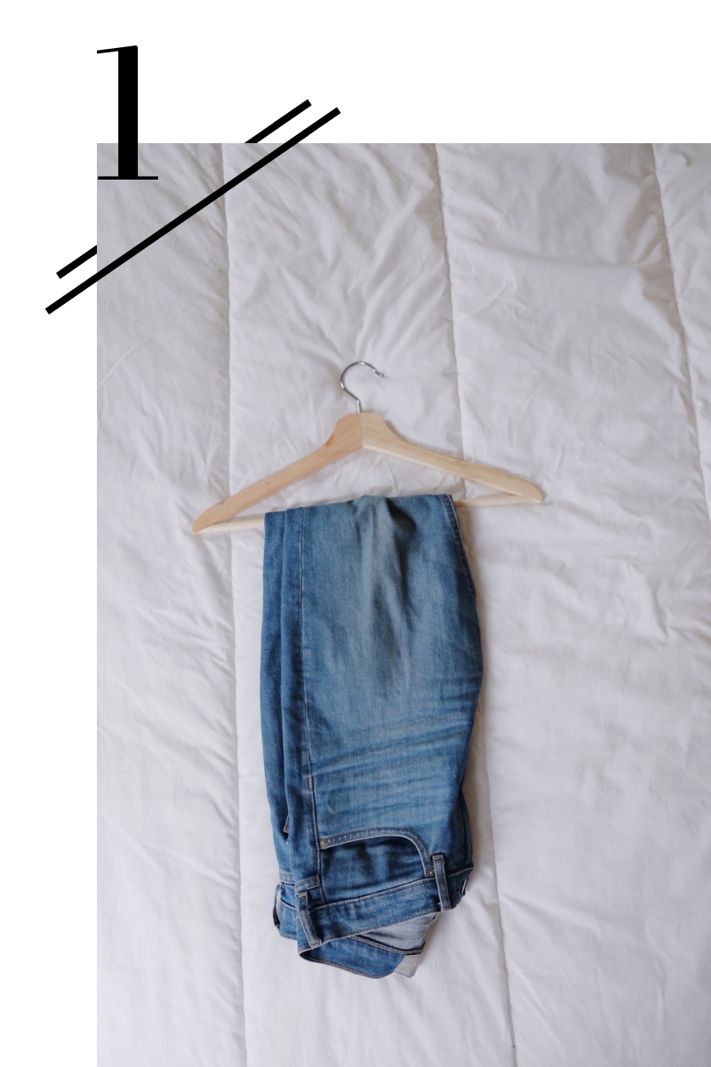 Blue Skinny Jeans - Tried and true, an easy go-to for everyday wear.(Find a review of them here!)