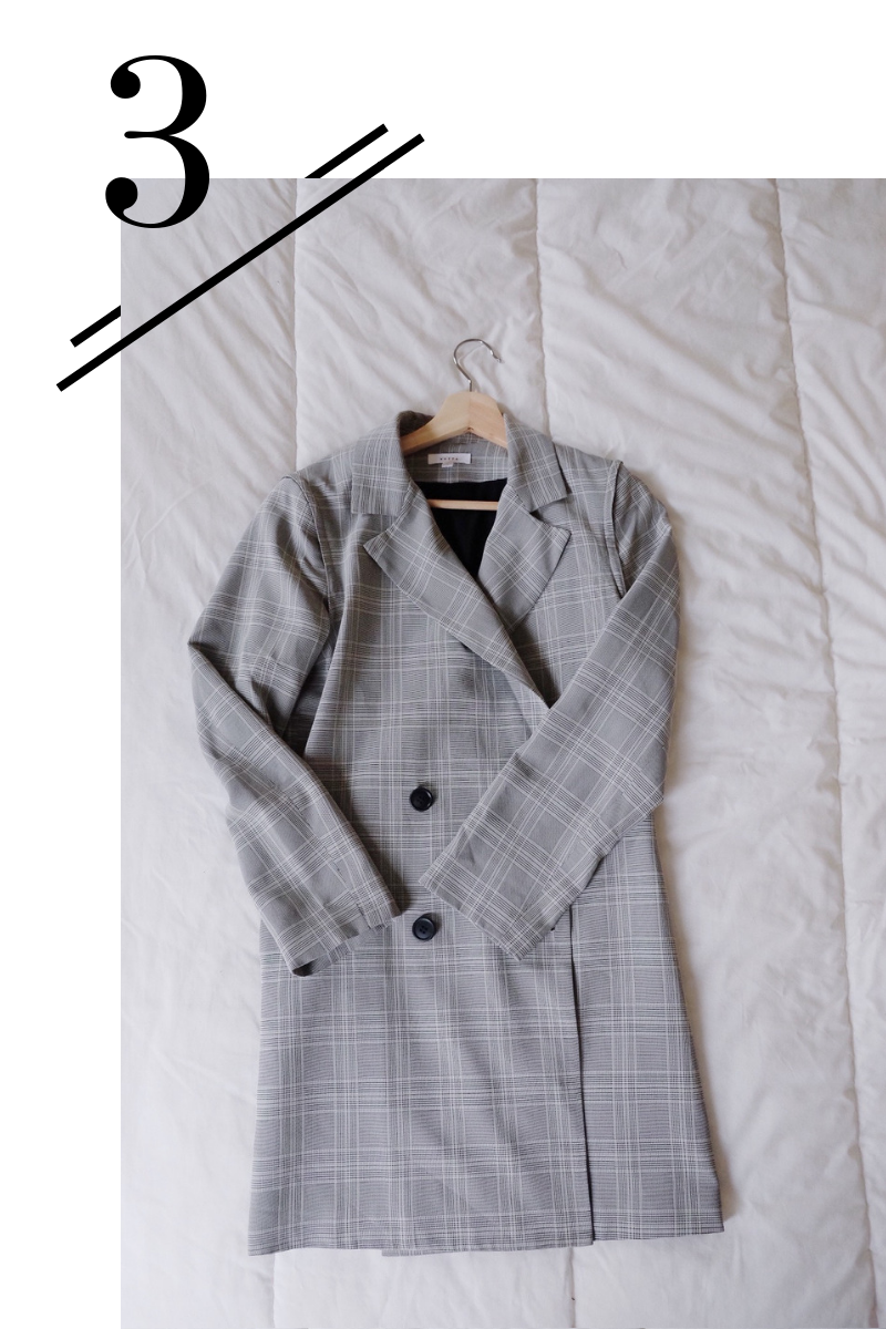 Blazer Dress - Since this can be worn as a blazer, dress and sleeveless vest it adds great options to this lineup!(Find a review of it here!)