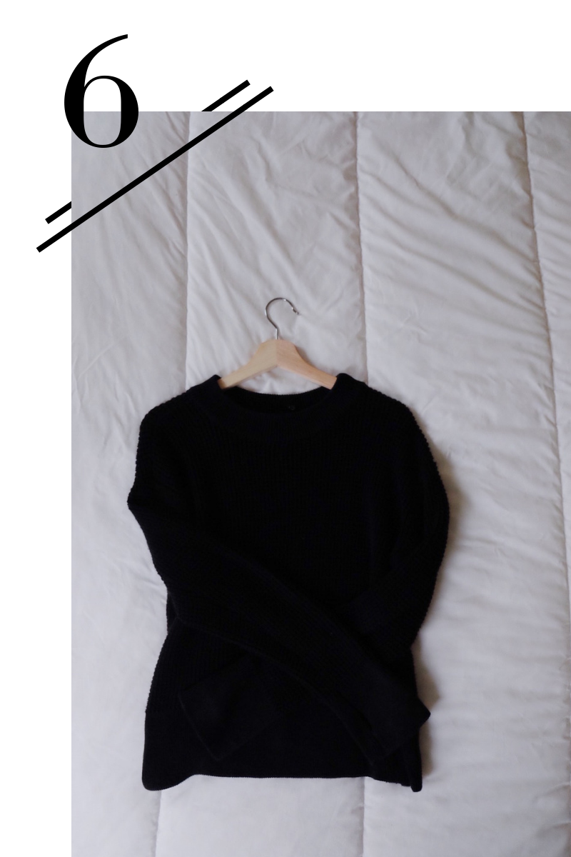 Mock Neck Sweater - Can be worn as a crewneck or a turtleneck when you add an optional attachment! 'Nuff said.(Find a review of it here!)