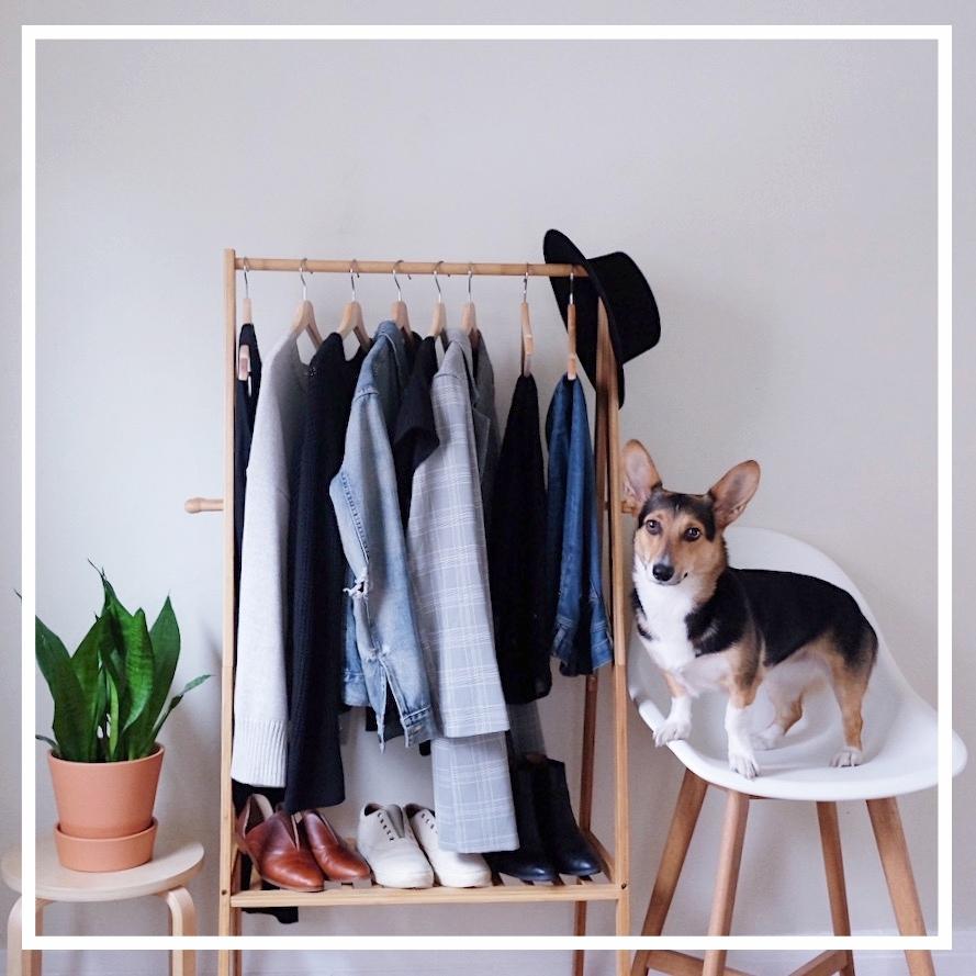 Minimalist Closet | Ethical Fashion