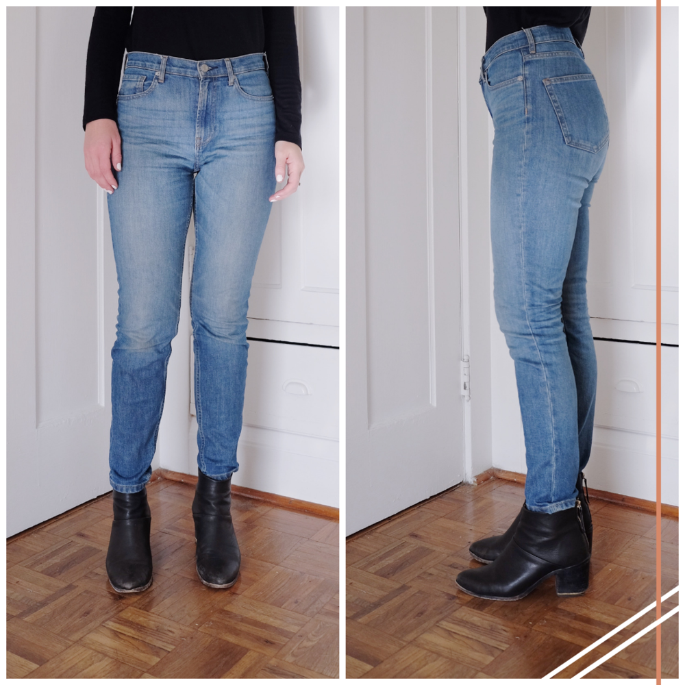 ce11239534d I Tried Three Different Styles of Everlane Jeans — Selflessly Styled
