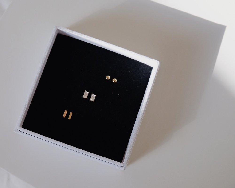 Jewels & Aces Review | Minimalist Versatile Earring Capsule