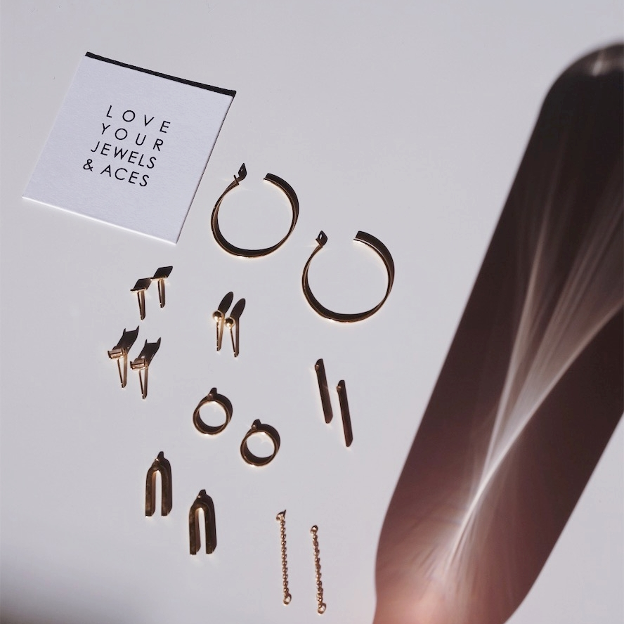 Jewels & Aces Earring Capsule Review by Selflessly Styled | ethical minimalist fashion
