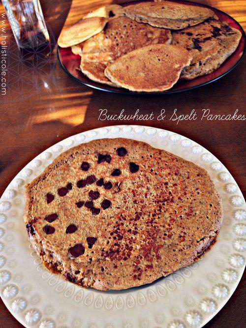 Buckwheat & Spelt Pancakes
