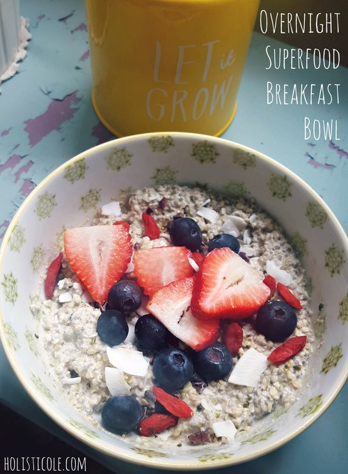 Overnight Superfood Breakfast Bowl