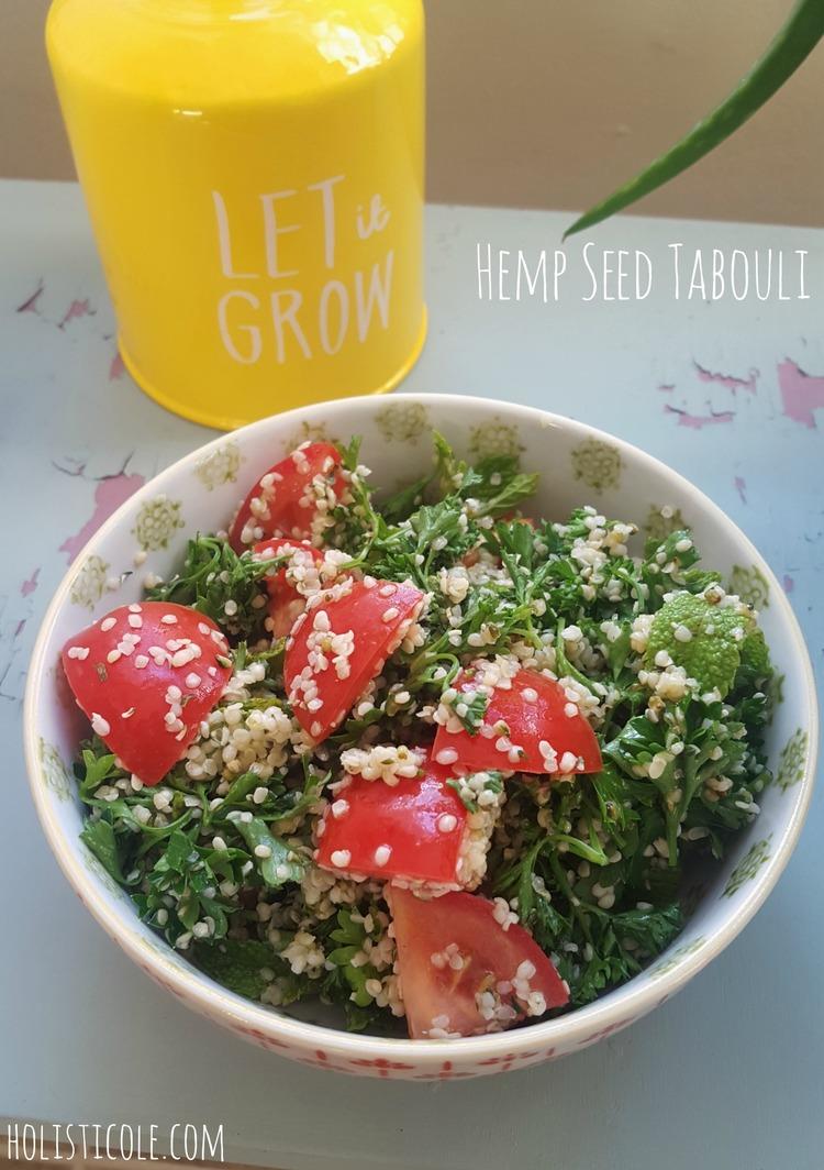 Hemp Seed Tabouli