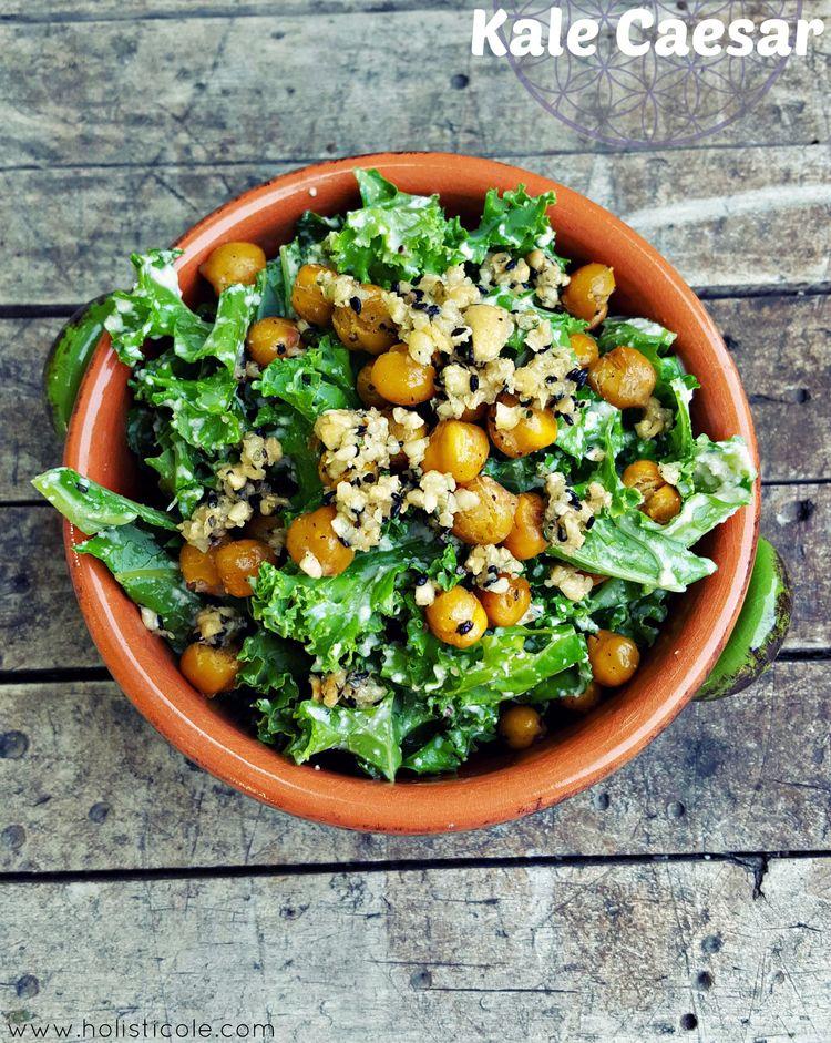 Vegan Kale Caesar