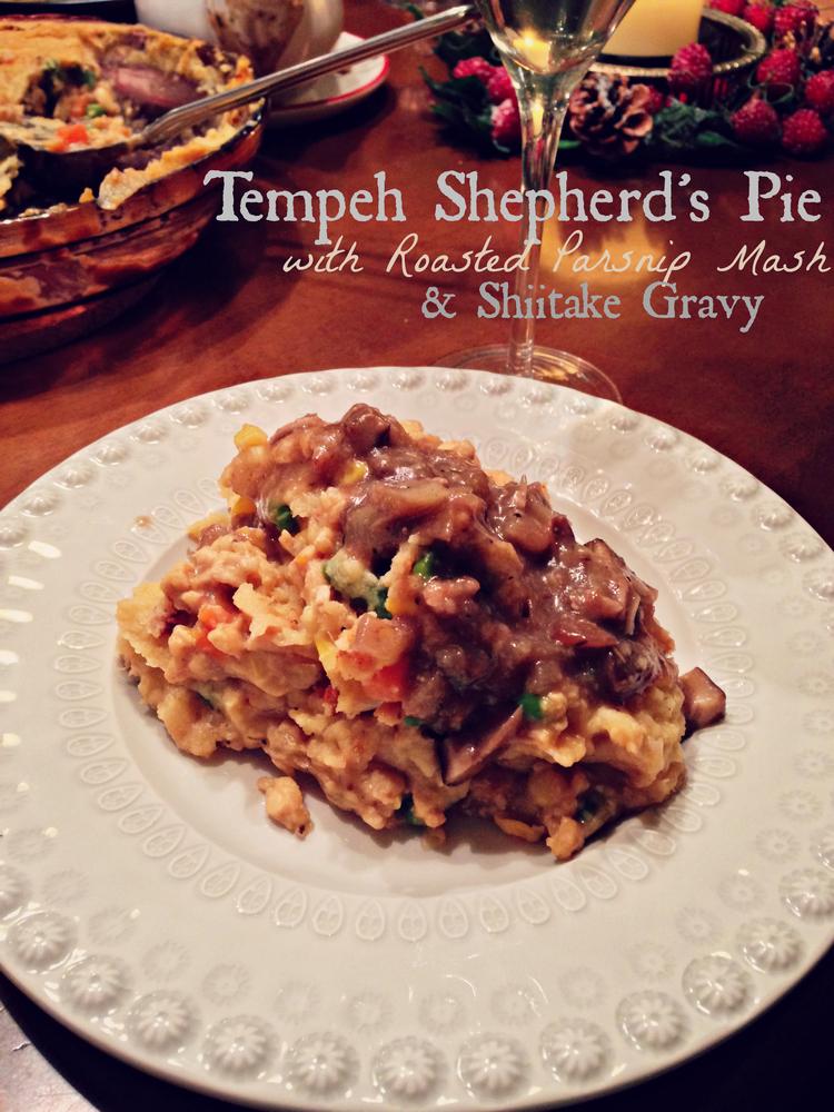 Tempeh Shepherd's Pie