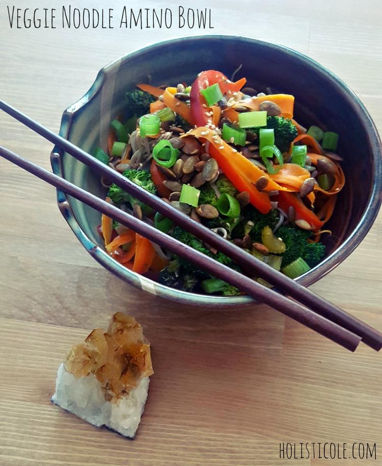Veggie Noodle Amino Bowl