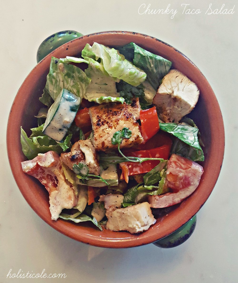 Chunky Taco Salad