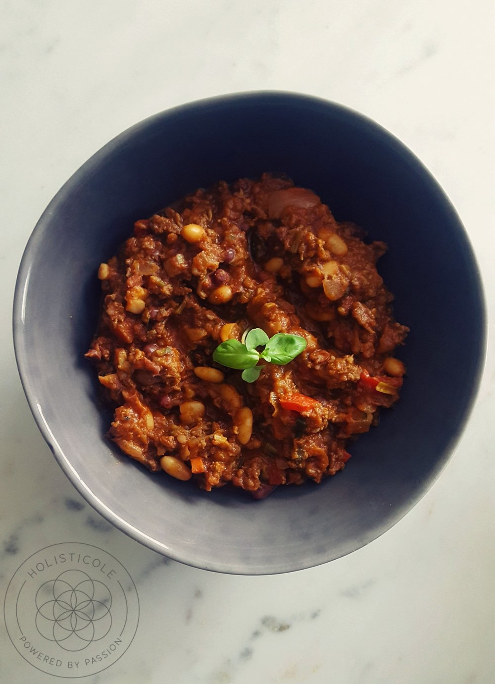 Holisticole - Grass-Fed Beef Chili