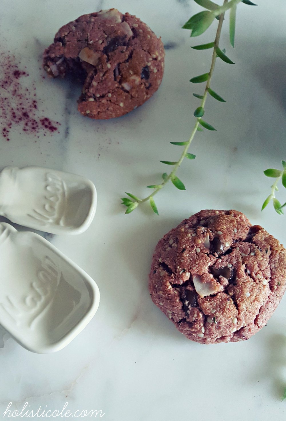 Holisticole - Chewy Pink Cookies