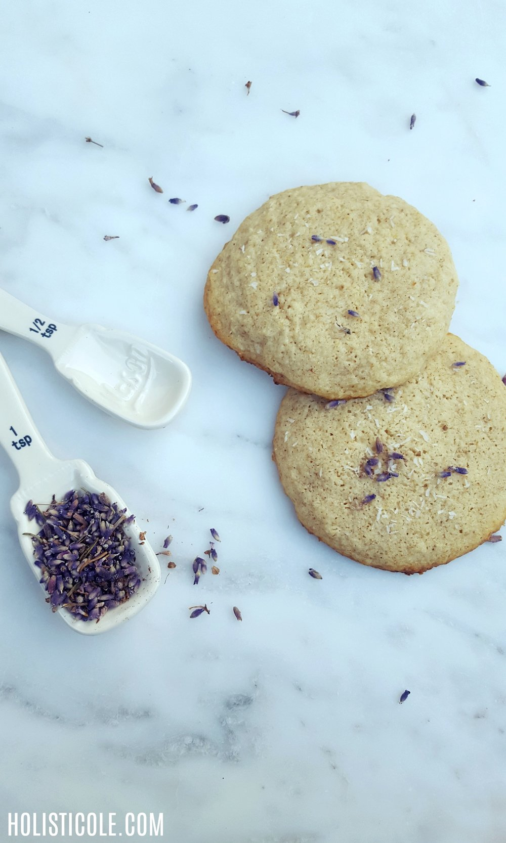 Holisticole - Anti-Anxiety Lavender Cookies