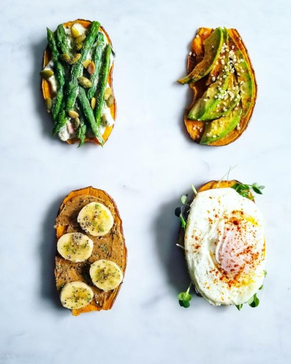 Holisticole - Sweet Potato Toast